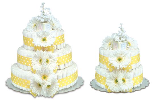 Yellow Gerbera Daisy Cake