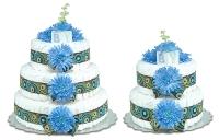Blue Mums Groovy Cake