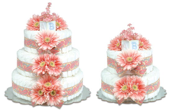 Pink Daisies Cake Groovy