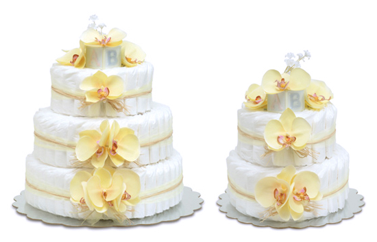 Yellow Orchid Cake