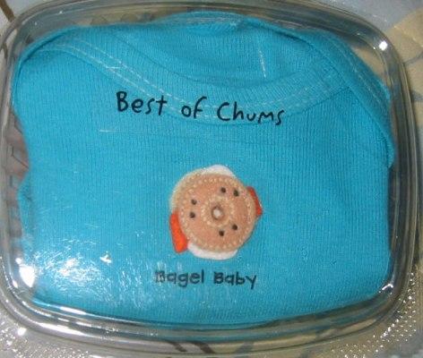 Bagel Baby Onesie