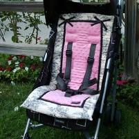 Stroller Liner Central Park Pink