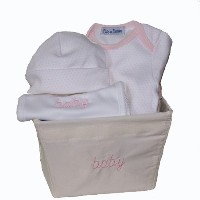 Mini Girl Layette Gift Basket