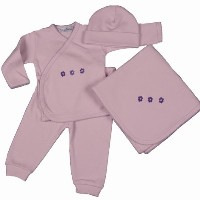 Little Lavender Layette Gift Set