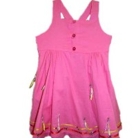 Catimini Pink Ete Indien Dress