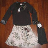 Catimini Atelier Skirt Set