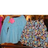 CP Daisy Delight Skirt Set and Headscarf