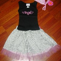 Poshy Patti Party Skirt Set