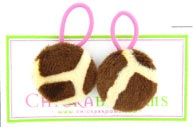 Giraffe Double Hair Ties