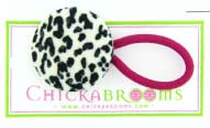 Animal Print Double Hair Ties