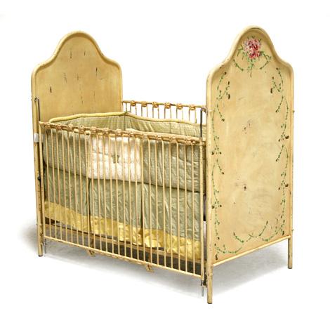 Floral Crib