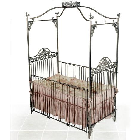 Garden Canopy Iron Crib