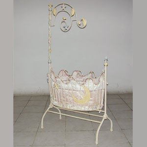 Moon and Stars Iron Cradle