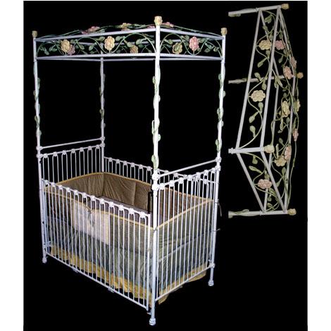 Blossom Iron Crib