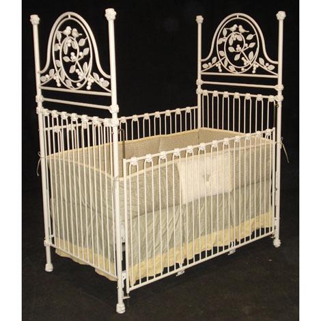 Versailles Iron Crib