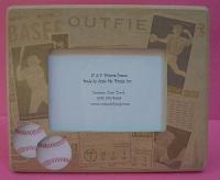 Vintage Baseball Frame