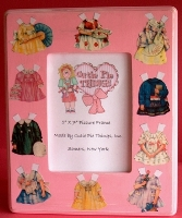 Paper Dolls Picture Frame