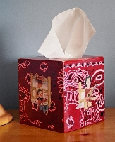 Western Cowpoke Tissue Box Cover