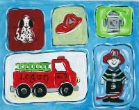 Fireman Art