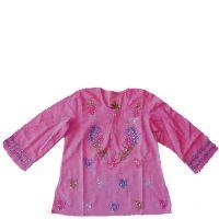 Devi Pink Sequin Kurta