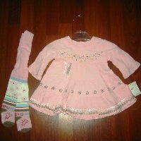 Deuz Par Deux Baby Travel Dress Set