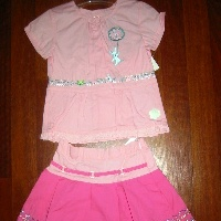 Kiss Me Skirt Set