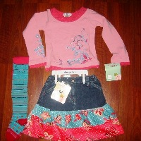 Fashion Victim Skirt Set