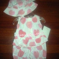 DPD Tulip Short Set with Hat