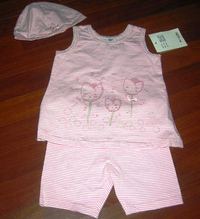DPD Fanny Short Set and Hat