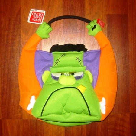 Gund Frighty-Night Halloween Frankenstein Bag