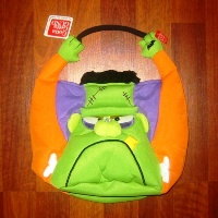 Gund Frighty-Night Halloween Frankenstein Bag