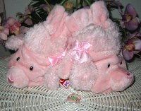 """Wearabouts Pink Poodle Mittens 7.5"""""""
