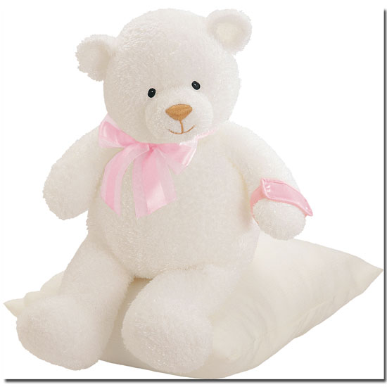 March of Dimes Sweetness Bear Blue or Pink
