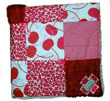 Cherries Blanket