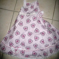Biscotti Heart Dress