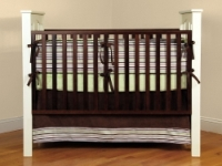 Sage and Green Crib Bedding