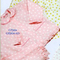 Pink Polka Dot 2pc Pajamas