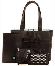 Tiffany In Blue Tote Set