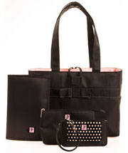 Tiffany In Pink Tote Set