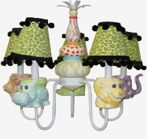 Jungle Animal Chandelier