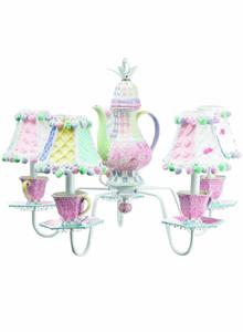 Tea Cup Chandelier