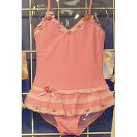 Baby Doll Skirted One pc Swimsuit