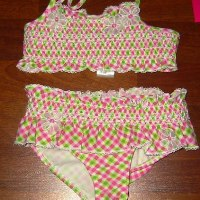 Summer Picnic Smocked Bikini