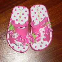 Opposites Attract Toddler Sandal