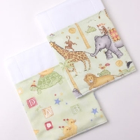 Burp Cloth Set Jungle Parade and Ducks