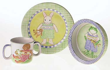 Petite Playmates Ceramic Set