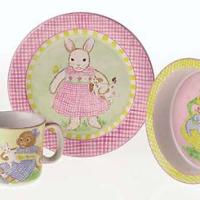 Petite Playmates Ceramic Set-Girl