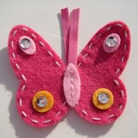 Ladybugs n Butterflies Abby Lynne Toddler Clip