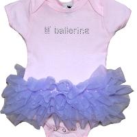 Lil Ballerina Onesie Fluff