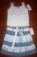 Prairie Girl Skirt Set